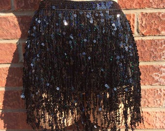 Super sassy sequin tassel jewel belt skirt the perfect festival piece