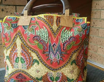 Sale Handmade Embroidered/Beeded Handbag