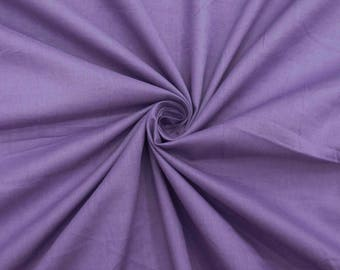 """Light Purple Fabric, Dress Material, Quilt Fabric, Sewing Decor, Upholstery Fabric, 42"""" Inch Cotton Fabric By The Yard ZBC7598F"""