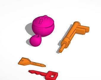 Klefki 3D Print File