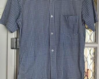 Vintage 70s s/s body shirt size M