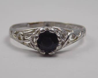 Sterling silver ring size 10 3/4