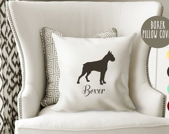 Personalized Boxer Pillow Cover