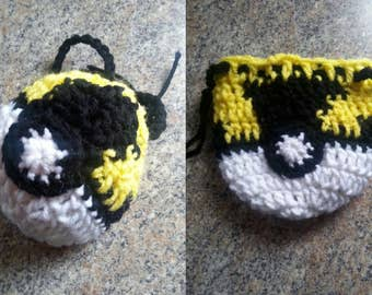 Pkmn Inspired Drawstring Pouch Ultraball
