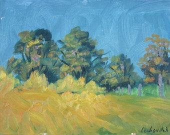 Landscape, Yellow Field