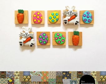 Easter Bunny Fridge Magnet Set