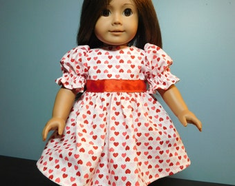 "Party dress for 18"" doll"