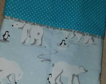 Polar Bears and Penguins PillowCase
