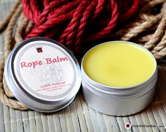 Special balm for the maintenance of natural jute or hemp for shibari/kinbaku strings