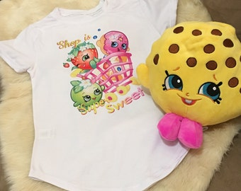 Shopkins Girls Graphic T-Shirt- Kid