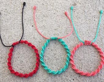 Spiral Friendship Bracelets for teens & adults