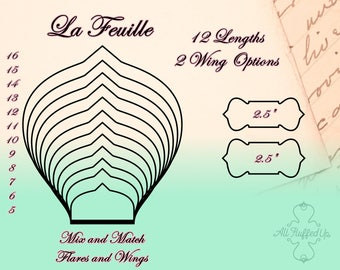 "La Feuille/Full Bundle/Cloth Pad Sewing Pattern/2.5"" Snapped Width"