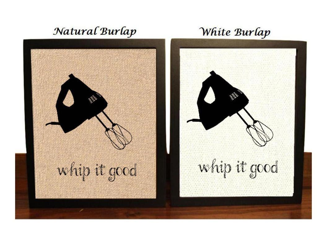 whip it good hand mixer funny kitchen pun kitchen decor