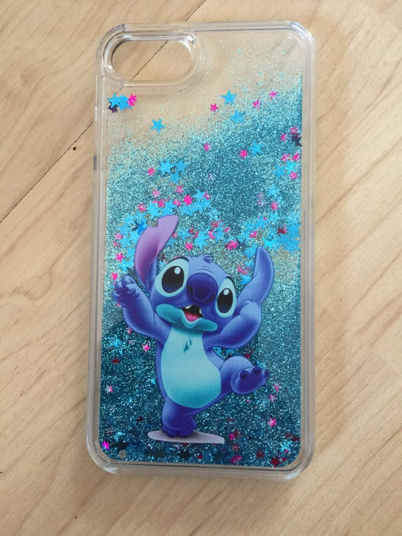 stitch phone case iphone 5s disney stitch liquid glitter for iphone 6 6s 7987