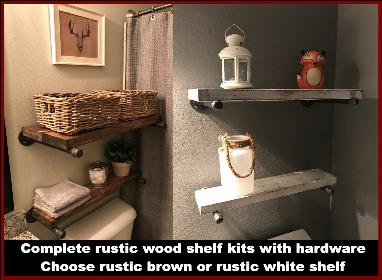 Shelves, Hanging Shelves, Wood Shelves, Bathroom Shelves, Kitchen Shelves,  Rustic Shelves, Rustic Wood Shelving, Industrial Wood Shelving