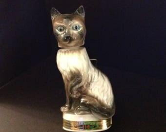 1968 Jim Beam Cat Decanter by C. Miller