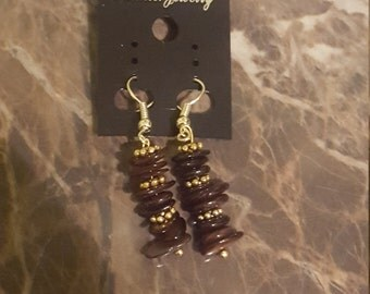Afrocentric Shell Earrings