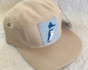 Belted Kingfisher 5 panel hat