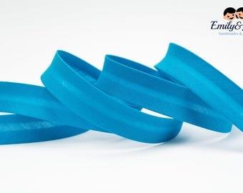 bias tape turquoise, bias binding