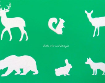 List 5 -  Animal stencils  *Free gift with every order*