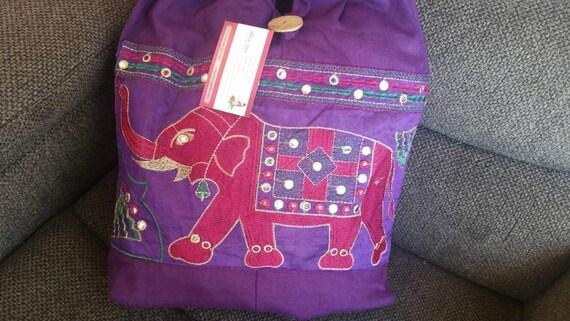 Tote bag Ethnic Bags Boho Shoulder Bag Elephant purse Ethnic Shoulder bag Hand Embroidery Bags Everyday Purse Women's Purse Women's Bag