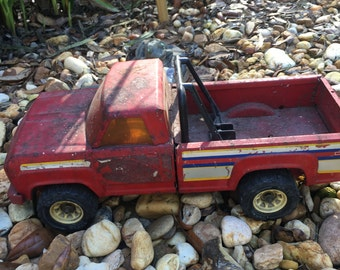 Vintage Tonka Truck, RED Toy Truck, Gift Idea