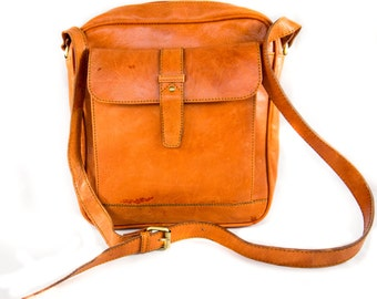 ADULT MESSENGER LEATHER bag