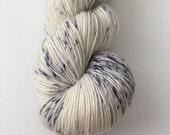 Single Hand Dyed Circus Single Ply Merino Fingering Knitting Yarn Magpie Lark