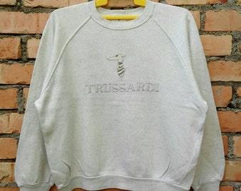 Rare!!! Trussardi Sweatshirt  Large Size