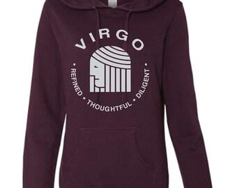 Virgo - What's Your Sign Blackberry Hoodie, purple hoodie, zodiac hoodie, sign hoodie, zodiac sweatshirt, virgo hoodie, virgo sweatshirt