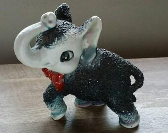 Vintage Arnart Sugar Texture Elephant Figurine