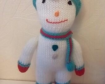 Knitted Snowman handmade