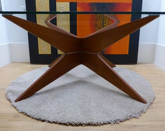 Danish Astro Atomic Teak Coffee Table