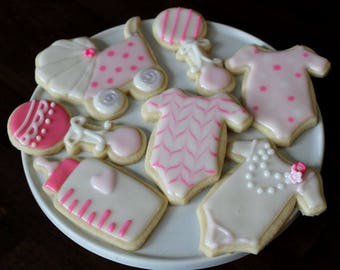 Baby Shower or Baptism Cookies