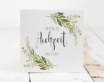 30 x wedding invitation * kraft paper *.