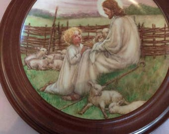 Lord is my Shepherd Plate