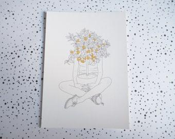 Card mailing XX Tangerine