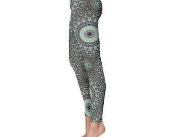 Printed Leggings, Yoga Print Leggings, Ladies Yoga Leggings, Yoga Pants, Fashion Leggings, Womens Stretch Pants