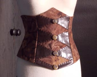 Top Steampunk in earth tones.