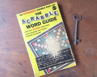 The Scrabble Word Guide Vintage Word Reference Book