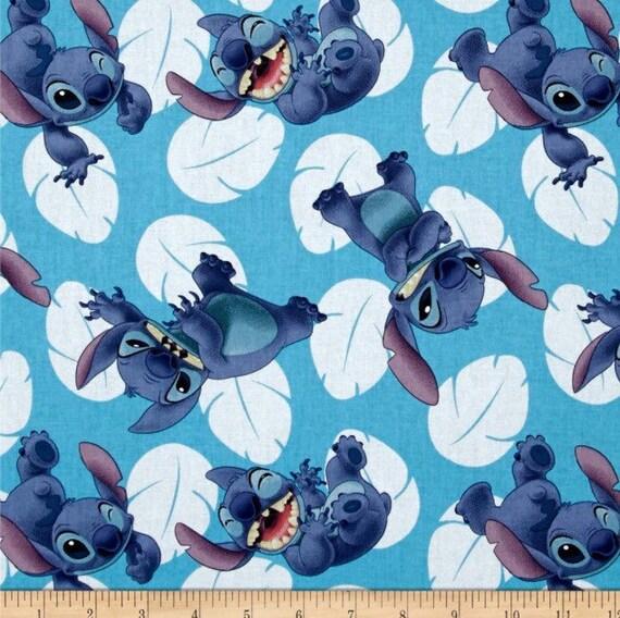 Disney Lilo And Stitch Fabric Disney Fabric Stitch