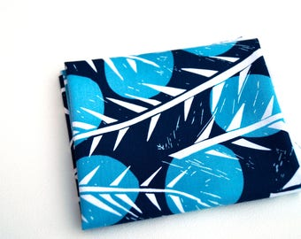 Indigo Branch Quilt Fabric from Marks Fabric Collection by Valori Wells