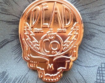 Dead and Company Pin Set Copper, and Black.