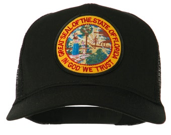 Florida State Patched Mesh Cap
