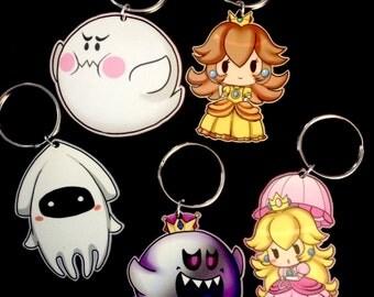 Super Mario Bros. Parody Key Chains