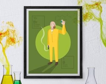 Breaking Bad Poster - Walter White