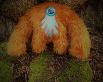 Plush monster kawaii cute soft toy Muji Mountain Cyclops Yeti 'Ginger'