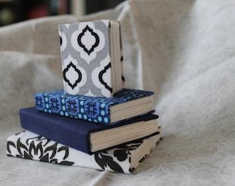 Miniature Blue Scale Handmade Journal Set