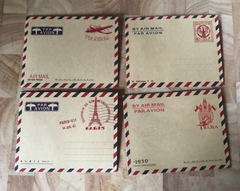Airmail Mini Envelopes