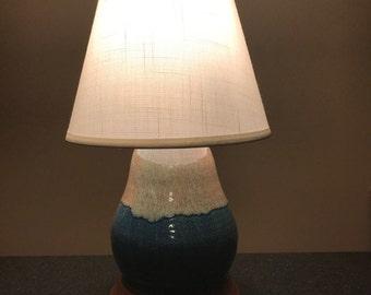 Pottery Lamp